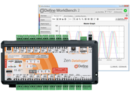 Define Instruments Zen Data Logger